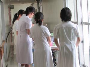 看護体験05